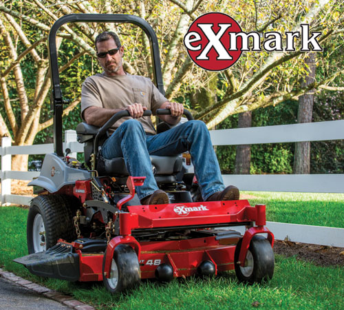 Exmark® has been synonymous with the world's most technologically advanced, durable, comfortable, and low-maintenance turf care equipment.