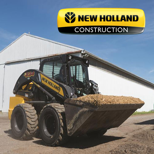 New Holland Construction Equipment Discounts